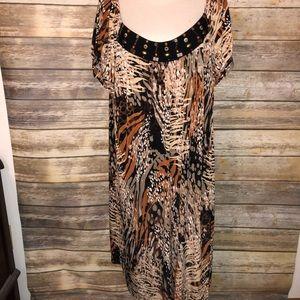 Silky dress